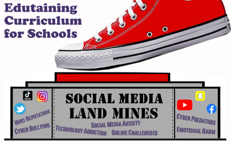 Social Media Landmines curriculum for schools logo