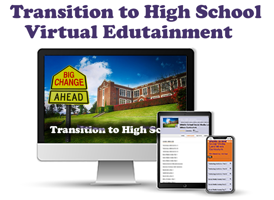 Transition to High School Virtual Presentation Icon