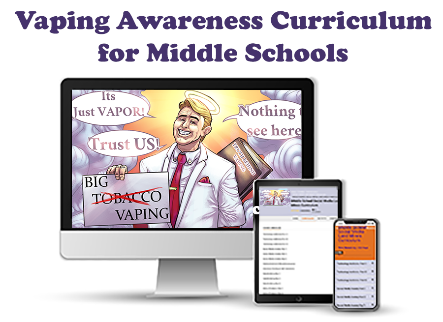 Vaping Awareness Curriculum for Middle Schools