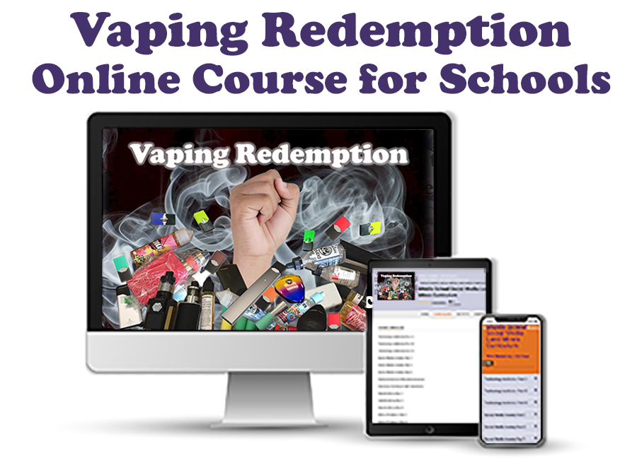 Vaping Redemption Course for Schools