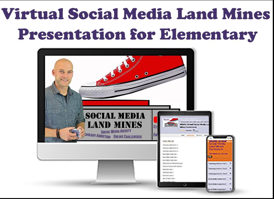 Virtual-Social-Media-Land-Mines-Presentation-for-Elementary-Schools
